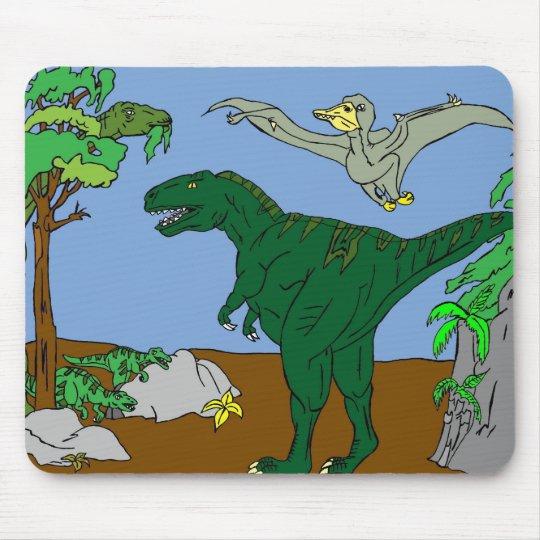 恐竜 マウスパッド
