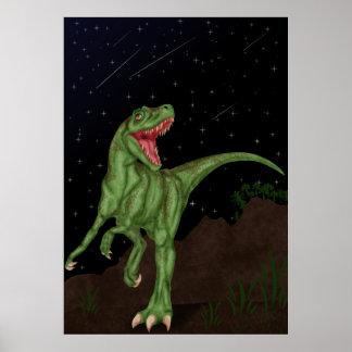恐竜-有史以前の夜 ポスター