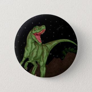 恐竜-有史以前の夜 5.7CM 丸型バッジ