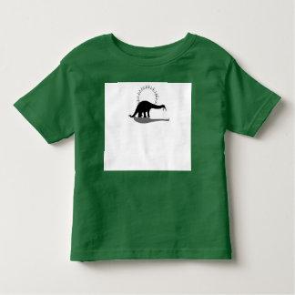恐竜- Brontosaurus トドラーTシャツ