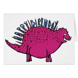 恐竜Spikeosaurusにあなたのためのメッセージがあります! カード
