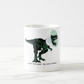 恥のコーヒー・マグのTレックスの円錐形 コーヒーマグカップ