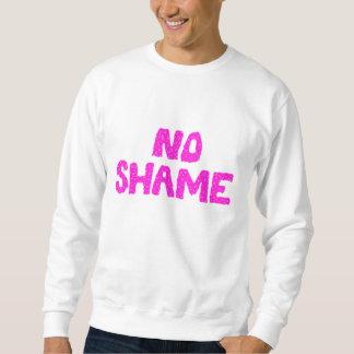 恥のスエットシャツ無し スウェットシャツ
