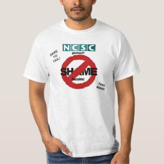 恥の劇場無し Tシャツ