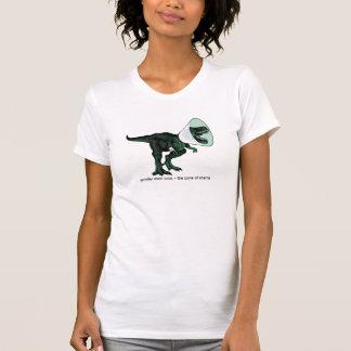 恥2の女性のアメリカの服装Tのtレックスの円錐形 Tシャツ