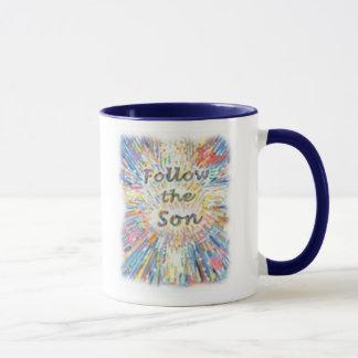 息子を後を追って下さい マグカップ