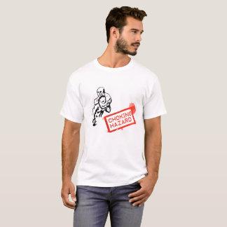 息苦しい危険(ワイシャツ) Tシャツ
