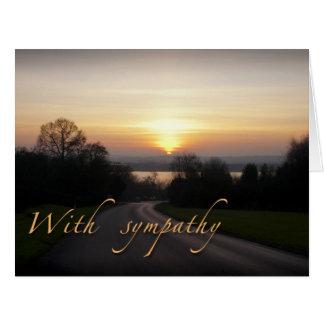 悔やみや弔慰のカード大きいサイズ カード
