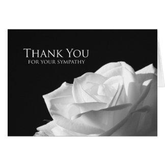 悔やみや弔慰の記念物はメッセージカード感謝していしています -- 上がりました カード