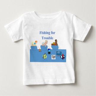 悩みのTシャツのための採取 ベビーTシャツ