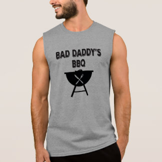 悪いお父さんBBQ。 パパBBQ. 袖なしシャツ