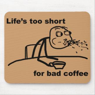 悪いコーヒー マウスパッド