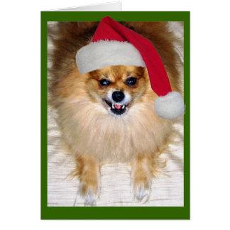 悪いサンタのクリスマスカード カード