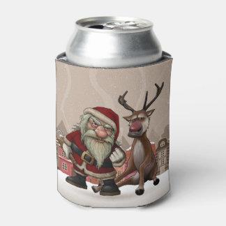 悪いサンタの気難しいトナカイ、カスタムなクーラーボックス 缶クーラー