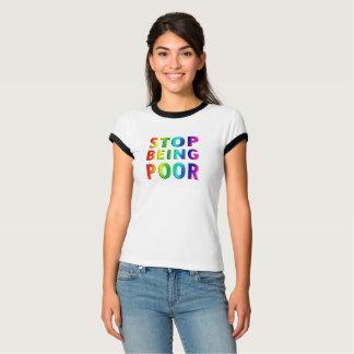 悪いティーがあることをストップ Tシャツ