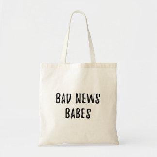 悪いニュースの可愛い人 トートバッグ