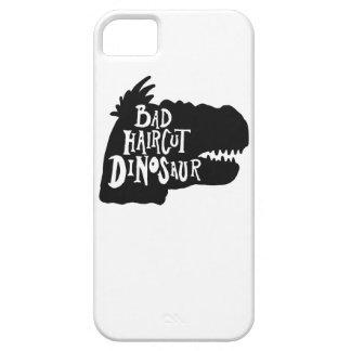 悪いヘアカットの恐竜の電話箱 iPhone SE/5/5s ケース