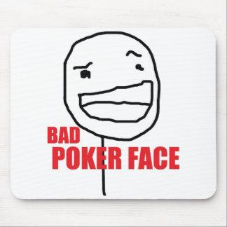 悪いポーカーフェース マウスパッド