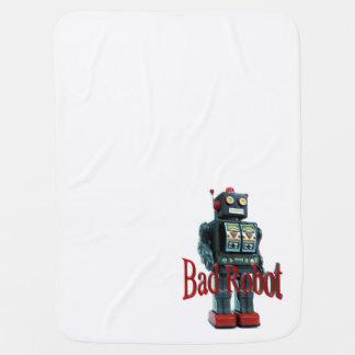 悪いロボット毛布 ベビー ブランケット