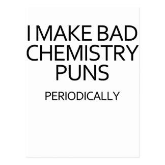悪い化学 ポストカード