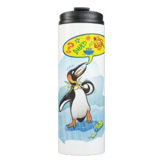 悪い単語を言っている絶望的なキングペンギン タンブラー