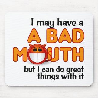 悪い口のmousepad マウスパッド