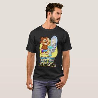 悪い毛の日のTシャツ Tシャツ