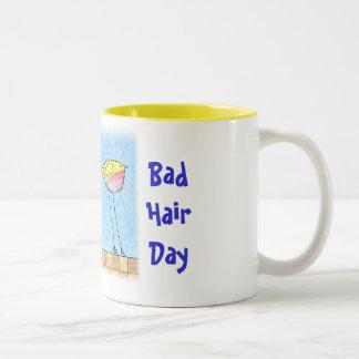 悪い毛日のマグ ツートーンマグカップ