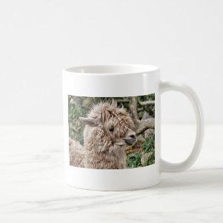 悪い毛日のラマ僧 コーヒーマグカップ