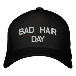 悪い毛日の帽子 刺繍入りキャップ