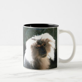 、悪い毛日は毎日あります ツートーンマグカップ