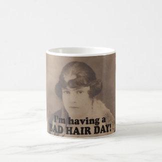 悪い毛日を過すおもしろいなヴィンテージ1920年 コーヒーマグカップ