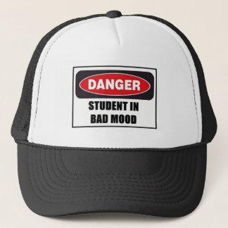 悪い気分の学生! キャップ