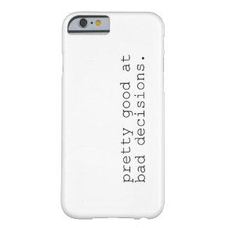 悪い決定のかわいらしいよい BARELY THERE iPhone 6 ケース