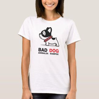 悪い犬動物 Tシャツ