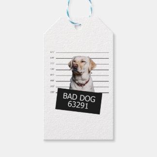 悪い犬 ギフトタグ