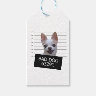 悪い犬-チワワ ギフトタグ