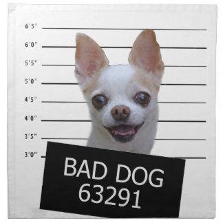 悪い犬-チワワ ナプキンクロス