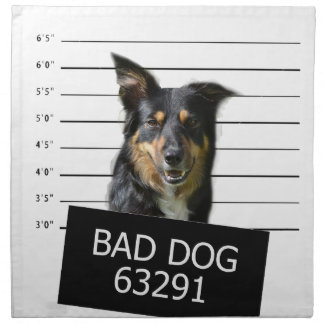 悪い犬 ナプキンクロス