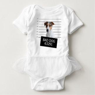 悪い犬 ベビーボディスーツ