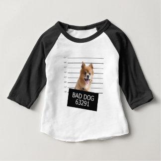 悪い犬 ベビーTシャツ