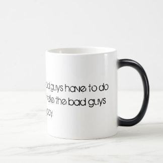 悪い男の子のため モーフィングマグカップ