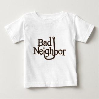 悪い隣のロゴ項目 ベビーTシャツ