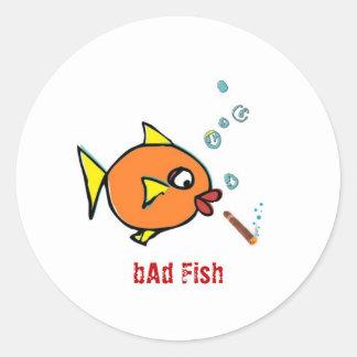 悪い魚の余分な物 ラウンドシール