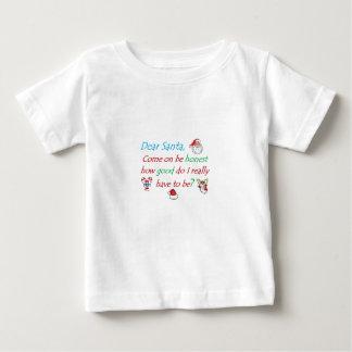 悪い…いかに親愛なサンタ ベビーTシャツ