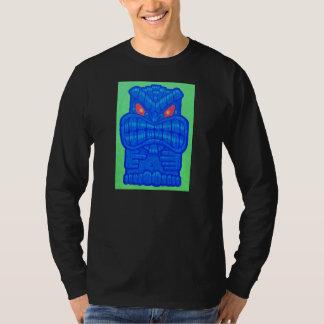 悪い@$$青いTIKIのワイシャツ Tシャツ