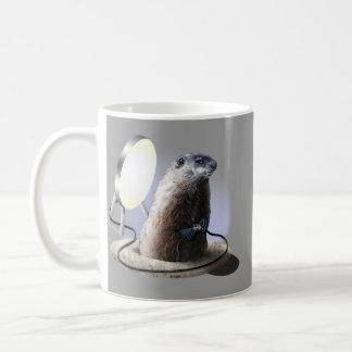 悪いGroundhog コーヒーマグカップ