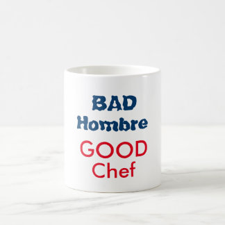 悪いHombreのよいシェフのマグ コーヒーマグカップ