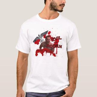 悪に指揮台があります Tシャツ