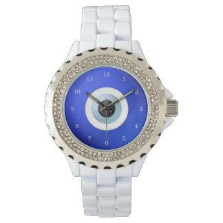 悪のまなざしに対して保護するべき護符 腕時計